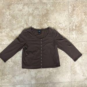 Eileen Fisher Snap Shirt